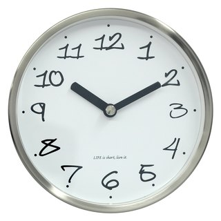 Mesa - ripe taste wall clock 2 in 1 (metal)