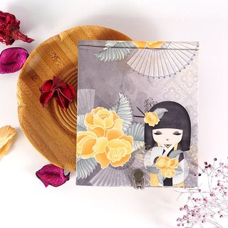 Notepad 85 pages with mirror - Naomi sincere and beautiful [Kimmidoll and blessing doll]