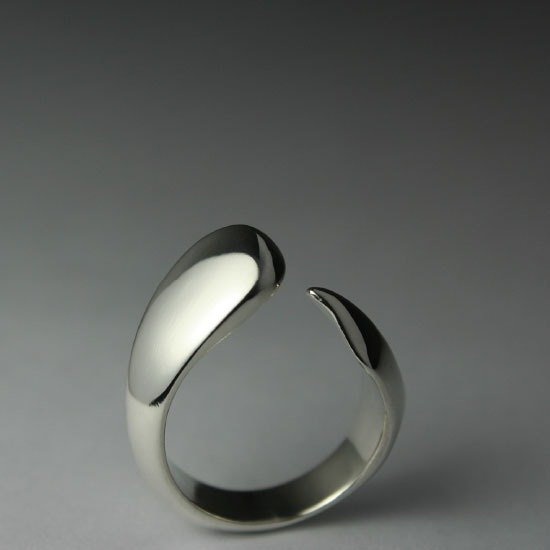 Set Wyatt. Fish Silver Ring. 011