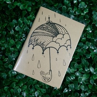 Notebook - After Rain Comes Rainbow- A6 - by WhizzzPace