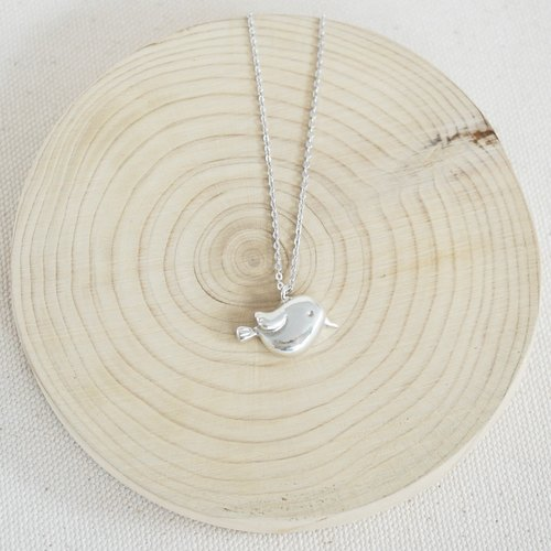 Birdie Sterling Silver Necklace