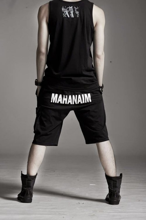 [Read] Ma Ma read typeface designer fashion models cotton shorts