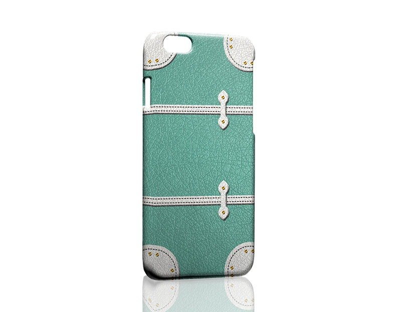 Lake blue suitcase ordered Samsung S5 S6 S7 note4 note5 iPhone 5 5s 6 6s 6 plus 7 7 plus ASUS HTC m9 Sony LG g4 g5 v10 phone shell mobile phone sets phone shell phonecase