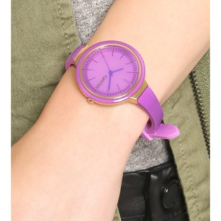 {Rumba Time} in New York fashionable watch brand Orchard Gloss - Violet Red
