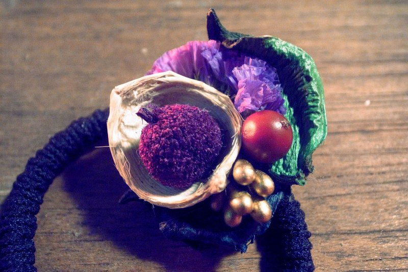 ⊛ drupe hair ring ⊛