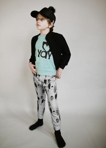 2014 Fall Winter Beau Loves gray plumage full version of harem pants
