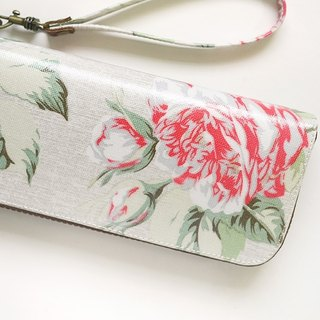 Vintage Rose. Waterproof long clip / wallet / purse / purse