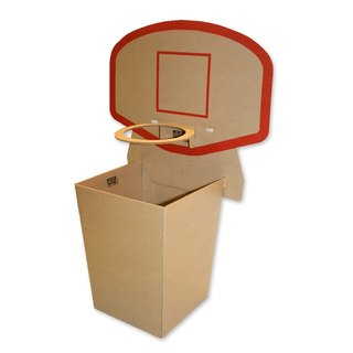 Basketball Bin basketball box storage bucket group | Office can also enjoy shooting fun.