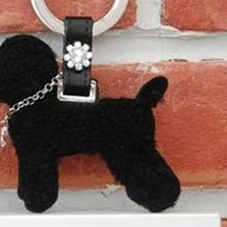 [CHIC DOG] Classic Wool Leather Hanger - Sheepskin (Fashion Black)