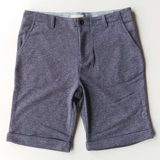 Knit elastic knee shorts