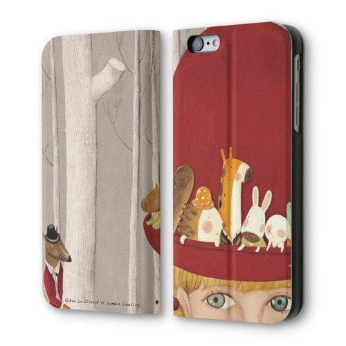 AppleWork iPhone 6 / 6S clamshell holster: wolf PSIB6S-010