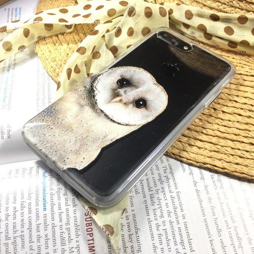 Cute Owl    iPhone X case   Super Sturdy Case with 3D embossed printing