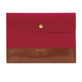 Japan 【LABCLIP】 Prendre Series Briefcase A5 Information Bag Red
