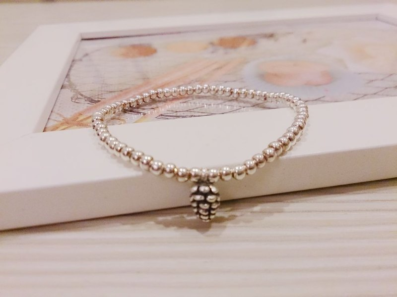 925 sterling silver bracelets pineal fruit happy love bracelet