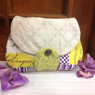 [] Clutch Cosmetic BONJOUR finished * 2, can be customized