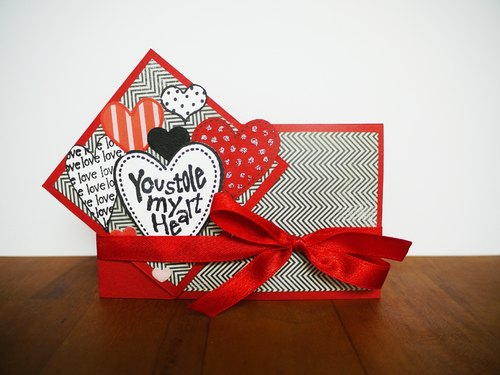 [Yu-crafts handmade cards] # 119 you stole my heart
