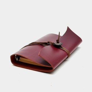 【God of the ancestral home of the gods】 leather six holes loose-leaf notebook 5-inch leather binder diary of the diploma graduation gift guest carved letter when the gift