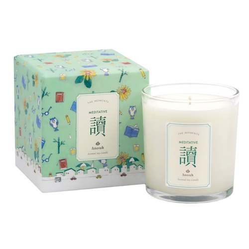 讀.香薰大豆蠟燭MEDITATIVE Scented Soy Candle