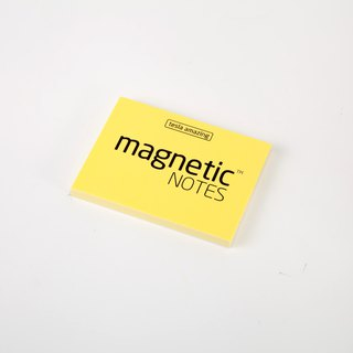 /Tesla Amazing/ Magnetic Notes S-Size yellow