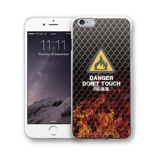 AppleWork iPhone 6 / 6S / 7/8 Original Design Case - Caution High Temperature PSIP-199