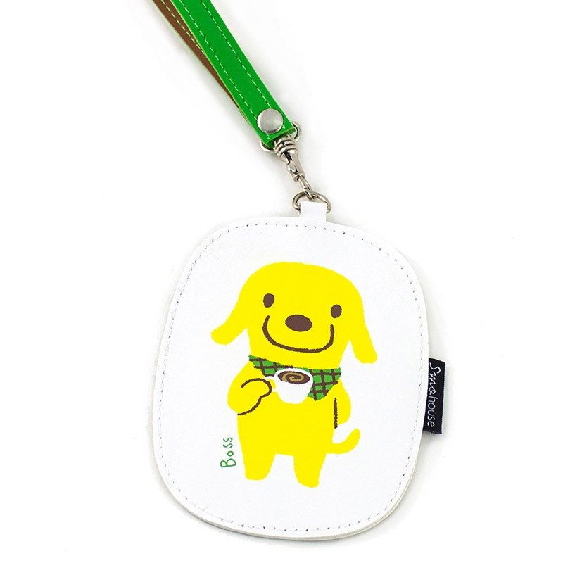 [BiBi] multi-purpose ticket card holder: dog shop chief product coffee