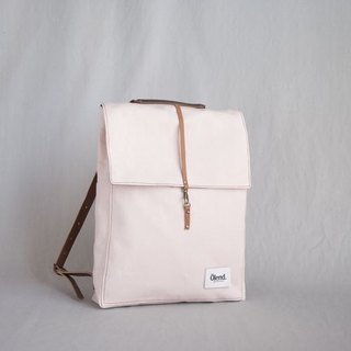 |100% handmade in Spain| Ölend Holden Fabric| Leather |Laptop bag  (Pale Rose)