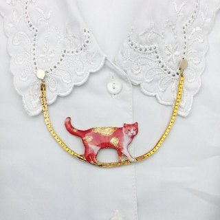 [Lost and find] cat walking on a tightrope scarves buckle buckle collar