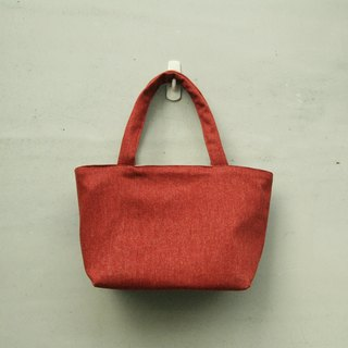 Small wine red tote