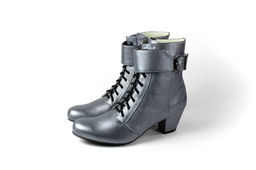 │ silver straps whims boots