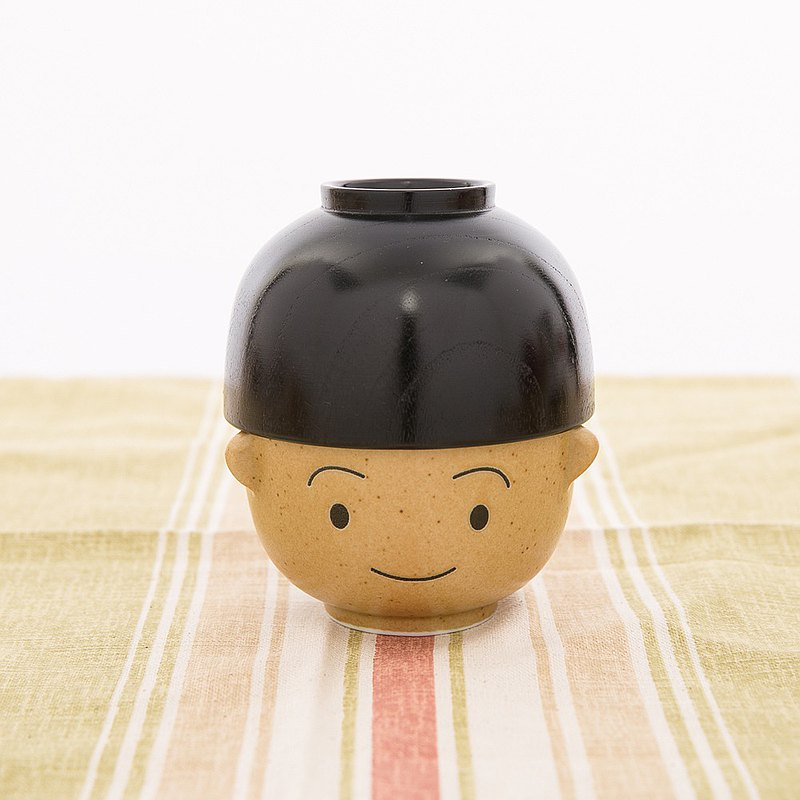 Sunart rice soup bowl set - Manfu boy