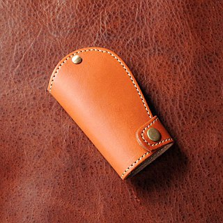 [DOZI leather hand made] Knight wind key bag can also be used as a home key bag can put 3 to 4 keys