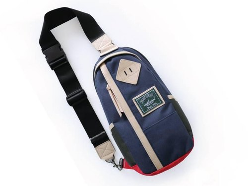 Matchwood Design Matchwood Hunter Shoulder Bag Backpack Side Bag Messenger Bag Chest Blue