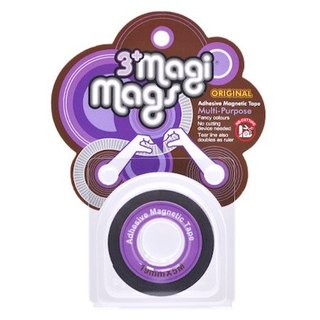 3+ MagiMags Magnetic Tape   19mm x 5M Neon.Purple