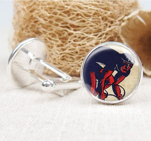 Cyclist - shirt cufflinks fashion accessories ︱ ︱ boys gifts