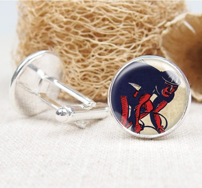 Cycling - Cufflinks / Shirt Accessories / Birthday Gifts [Special U Design]