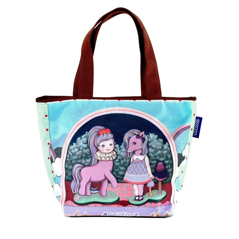COPLAY  small tote bag-girl & pony are best friend