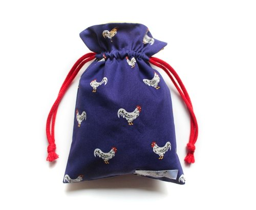 Chickens Pouch - Blue