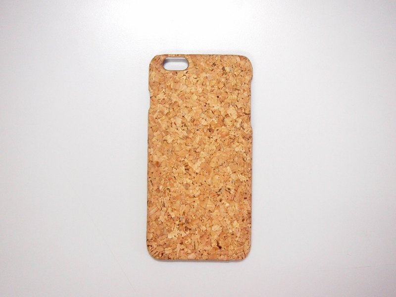 naturaism Cork iPhone 6S 6 7 8  Case natural wood phone cover
