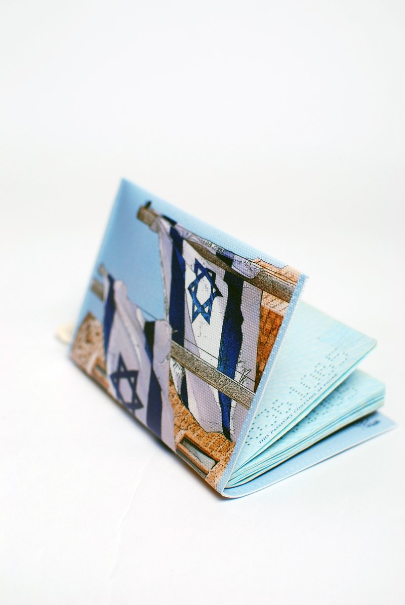 LOVE. ISRAEL. Passport Case