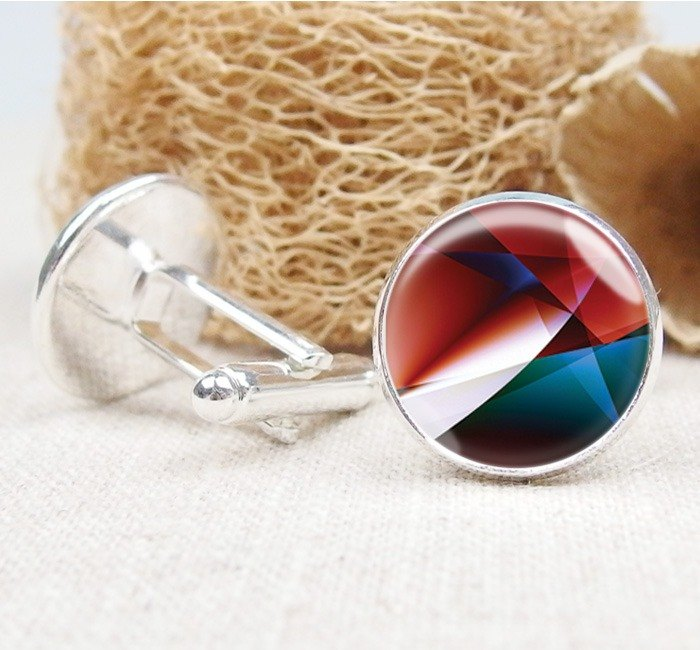 Gradation - Cufflinks / Shirt Accessories / Birthday Gift [Special U Design]