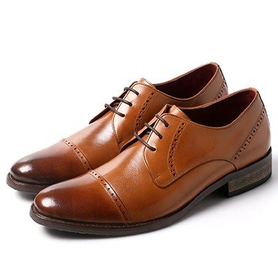 Vanger elegant and beautiful ‧ Jane is still elegant yupi carved Derby shoes Va177 vintage brown Taiwan system