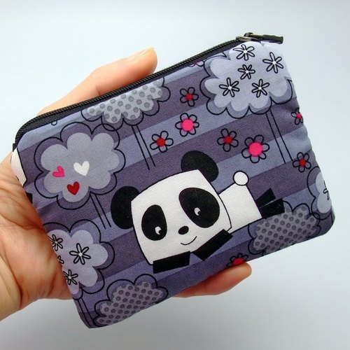 Zipper pouch / coin purse (padded) (ZS-40)