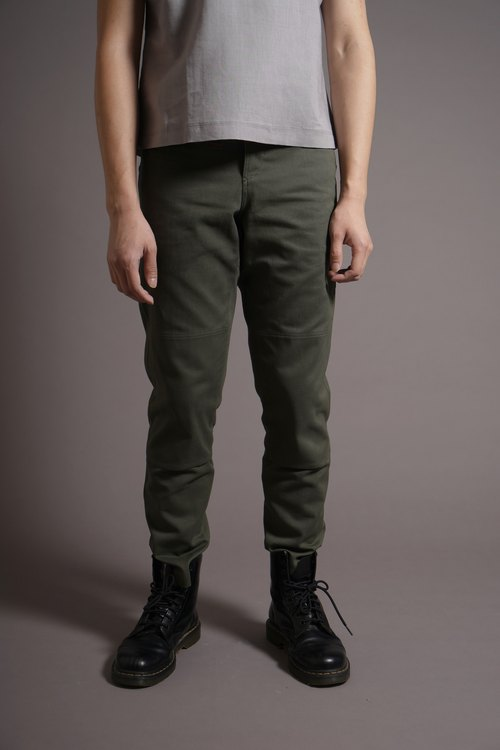 Adjustable buckle pants Army Green