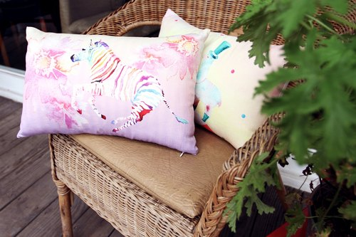 Theme designed pillow --- beauty from art to life Minervac