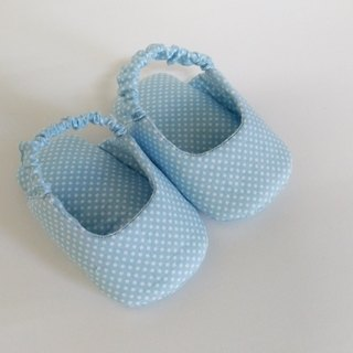 Blue Water Jade Baby Shoes Front Pack Sandals