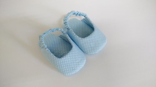 Shuiyu blue baby shoes and bags sandals before paragraph
