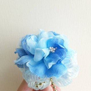 [Wedding] cherry bouquet signature pen - light blue paragraph