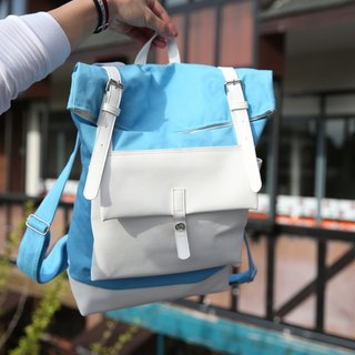 Gla ce' brand Baby blue Backpack