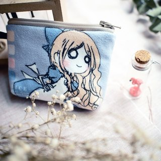 Hand Sandwich purse ▌ ▌ Alice Alice in Wonderland Alice swatches Edition