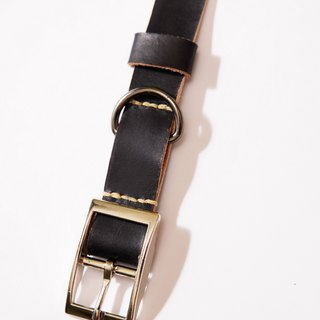 Handmade leather pet collar - dog collar (medium and large dogs) + bells discount 10% discount ~